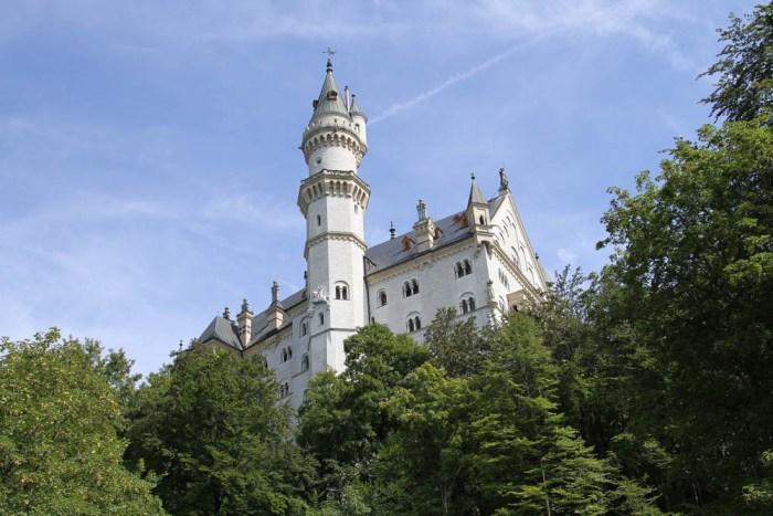 View from Schlossrestaurant Neuschwanstein | Where to stay near Neuschwanstein Castle: 12 Best Hotels and Airbnbs in Hohenschwangau, Schwangau, and Füssen