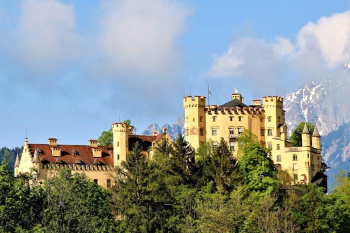 Hohenschwangau Castle | Where to stay near Neuschwanstein Castle: 12 Best Hotels and Airbnbs in Hohenschwangau, Schwangau, and Füssen