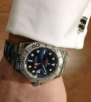 FSOT Rolex Yachtmaster 116622 Blue Dial MyWatchMart