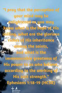 Ephesians, Identity in Christ