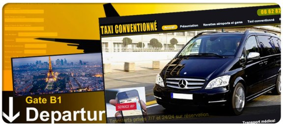 création site taxi vtc