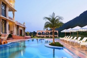 Rajasthali Resort & Spa Pool Area