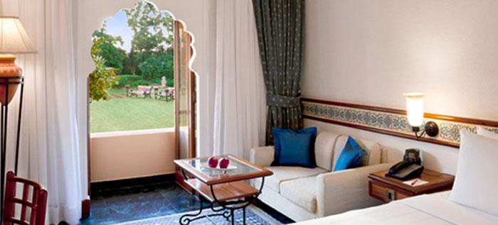 Trident Jaipur Bedroom view
