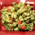 Mint-Almond Pesto Pasta Salad - My Weekend Kitchen