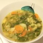 Caldo Verde, green soup,