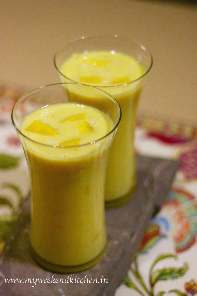 Mango shake recipe, Indian mango smoothie recipe