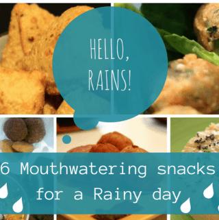 Indian snacks for rainy season, hot monsoon snacks