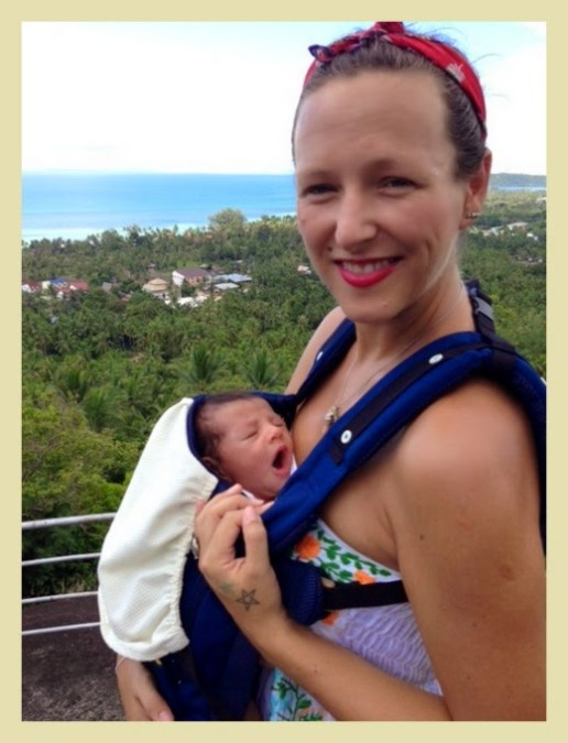 Traveling with a 4 – 6 month old baby