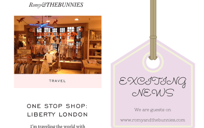 "Romy and the Bunnies ""One Stop Shop"" Liberty of London"