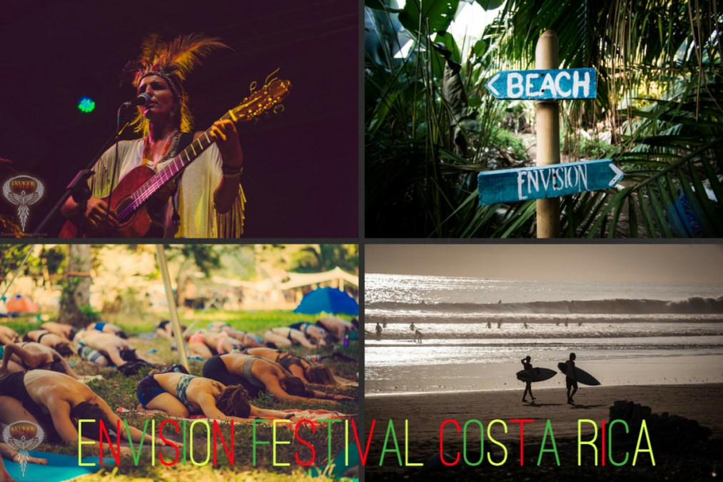 Costa Rica, Envision Festival yoga, wellness, music and kids?