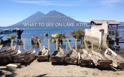 What to see on Lake Atitlan, Guatemala
