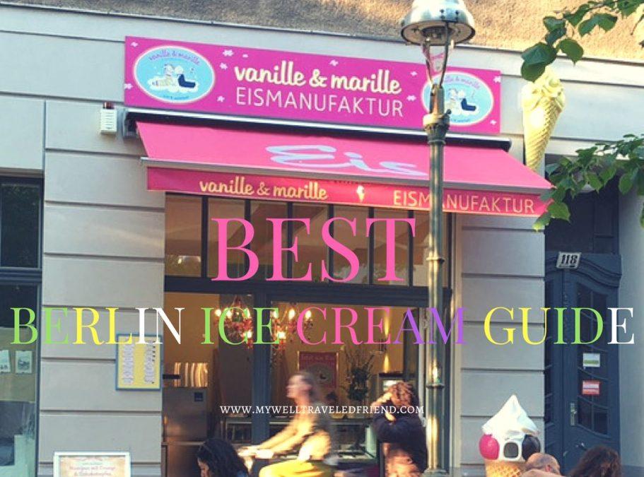 Best Berlin Ice Cream spots