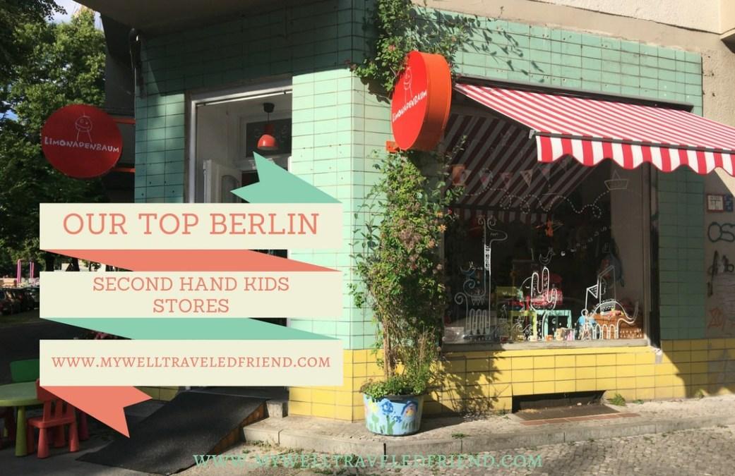Our TOP Berlin Children's Second Shops