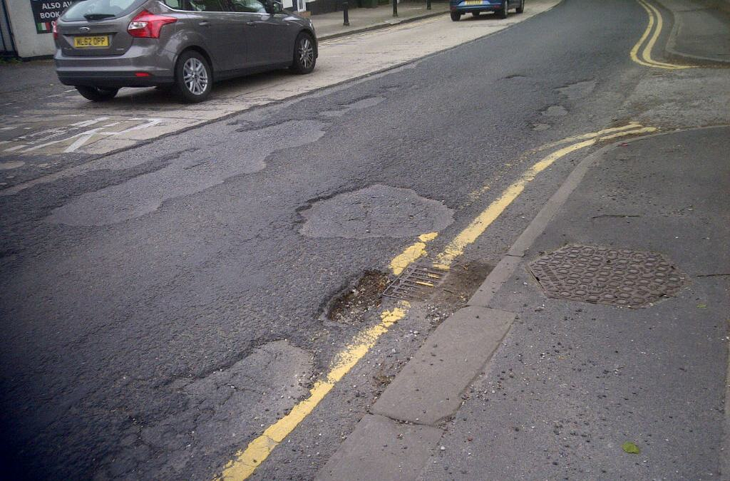 Potholes need filling? Tell us where