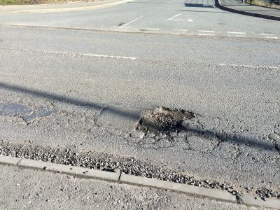 Church Street pothole