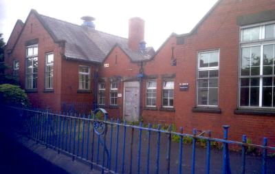 The former Four Gates School