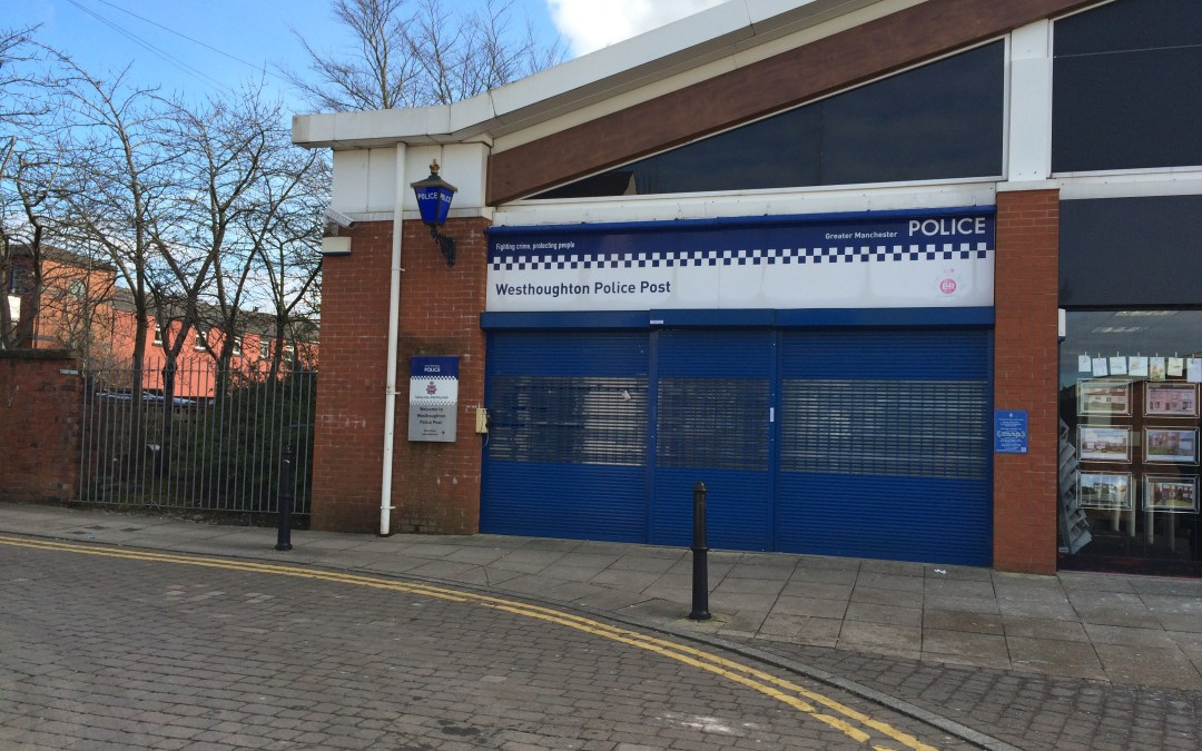 Westhoughton Police Post to be closed down