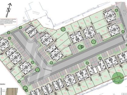 Plans for 38 houses at former Perseverance Mill site