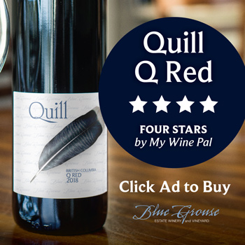 Buy Blue Grouse Quill Q Red Wine