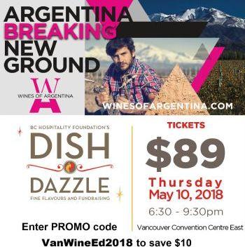 Dish n Dazzle Argentina Wine Event