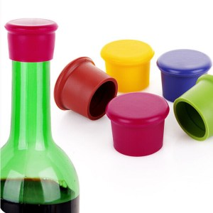 1 Pcs Silicone Wine Bottle Stoppers Approved Food Grade Silicone Durable Flexible Wine Bottle Stopper