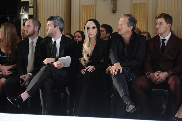 Versace Front Row at Paris Haute Couture Fashion Week S/S 2014
