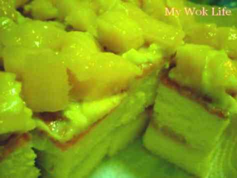 Homemade Mango cake