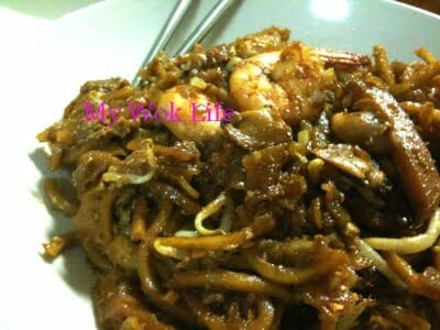 Fried Kway Teow (炒粿条)