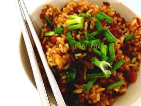Fried Glutinous Rice