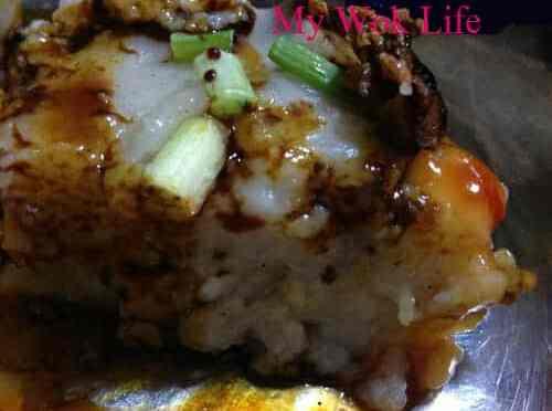 Steamed Yam (Taro) Cake 芋头糕