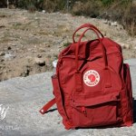 I'm going hands-free when I travel with my Fjallraven Kanken Classic Backpack