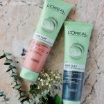 I've never used a clay cleanser so I was surpried that the L'Oreal Pure Clay Cleanser did not strip my skin