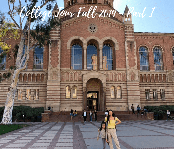 SoCal College Tour Fall 2019 Part I