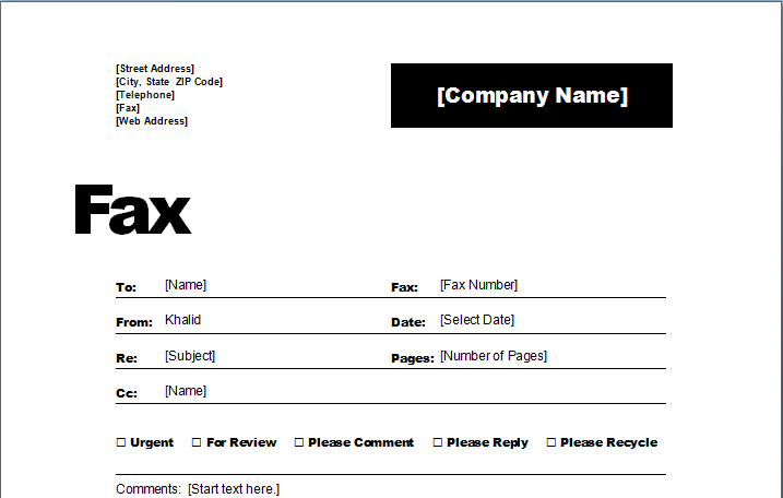 Fax Cover Sheet Template Images साठी प्रतिमा परिणाम  Fax Coverletter