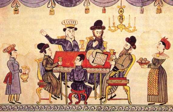 Pesach in Russia 1850