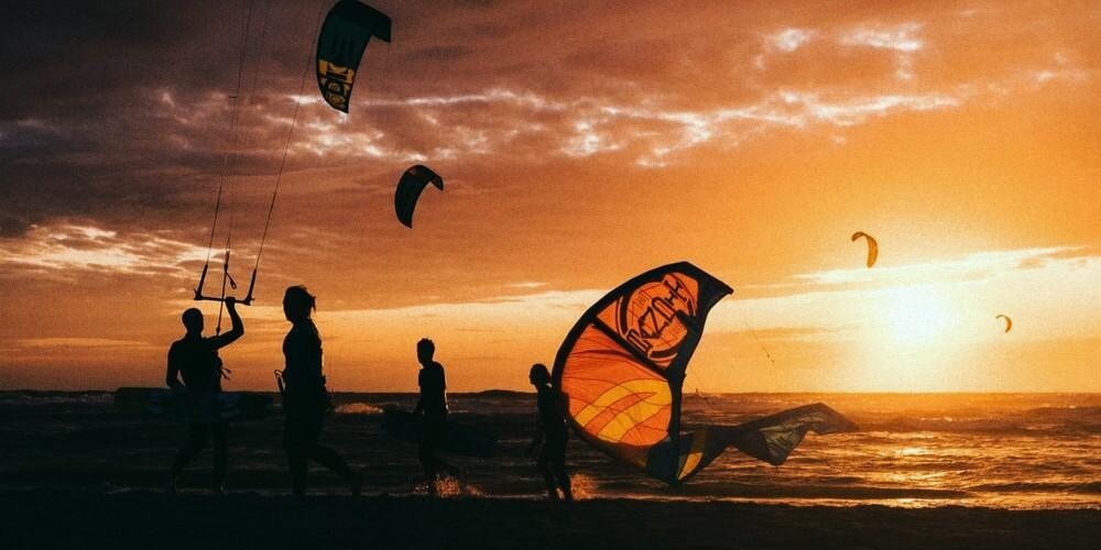 kitesurfen Ameland