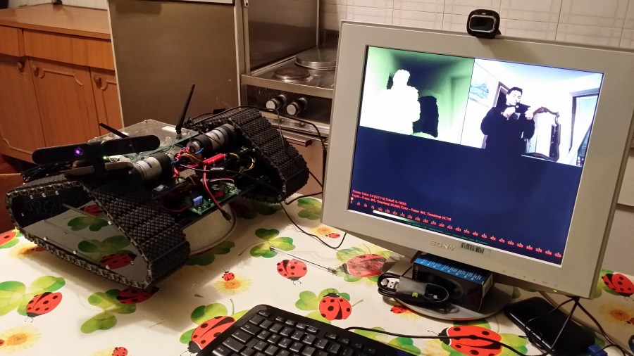 Asus Xtion Pro Live - NiViewer tool running on Jetson TK1