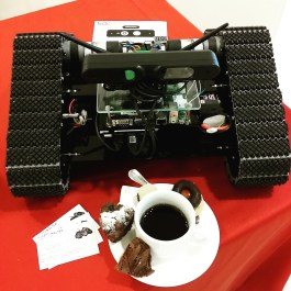 Coffee Robot and cakes... what else?