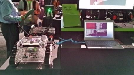 GTC 2016 Nvidia's booth