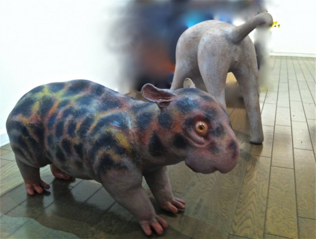 Tapir and Dog