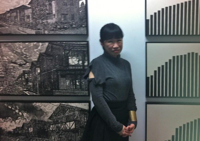 Sachiko Kazama, Kazama, Japanese art, printmaking, mokuhanga, Tokyo gallery, Japanese artist, printmaker, relief print, woodblock