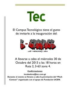 Invitacion e-garage Octubre 2013