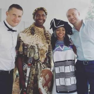 Lucas Radebe Wedding
