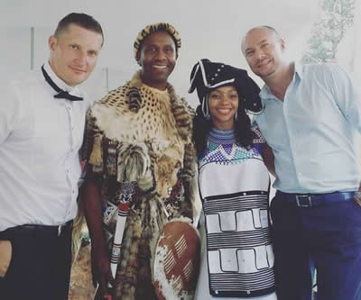Lucas Radebe Wedding