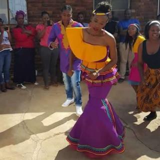 Caster Semenya and Violet Raseboya Traditional Wedding