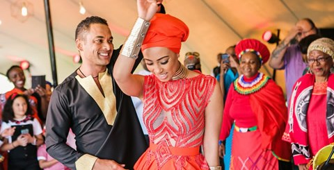 Sarah Langa Heaton and Jehan Mackay Wedding