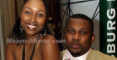 Robert Marawa and Zoe Mthiyane