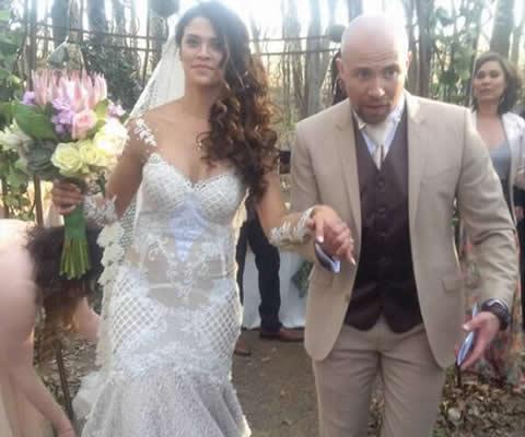 Clint Brink and Steffi van Wyk wedding