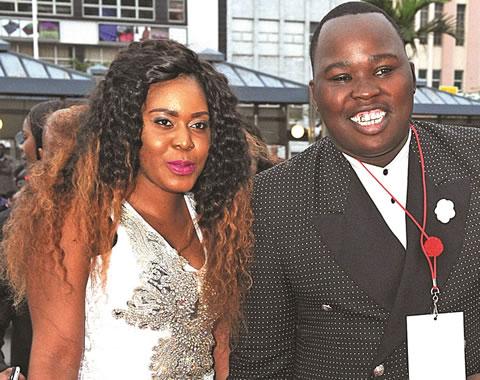 Thina Zungu girlfriend Zama Mtshali
