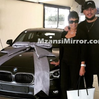 AKA Buys His Mom Lynn Forbes New car